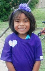 Cropped Purple Girl